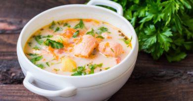 Вкуснейший сырный рыбный суп
