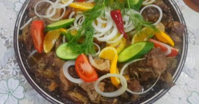 Мясо по-афгански