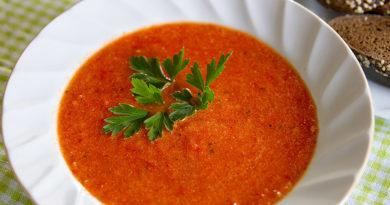 """Томатный суп """"Аль денте"""""""
