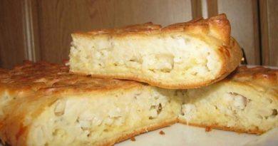 Универсальное тесто для пирога с несладкой начинкой