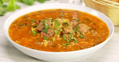Настоящий суп-харчо