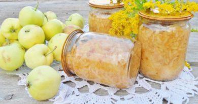 Стружка яблочная по-словацки
