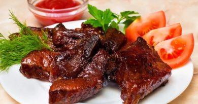 Мясо в пикантной корочке