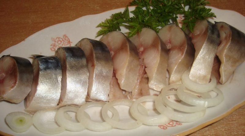 Солим рыбу дома