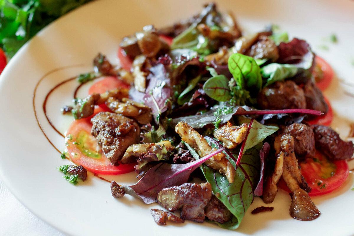 теплый салат рецепт с фото отметить, что фигура