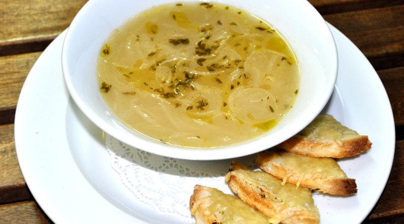 Парижский луково-картофельный суп