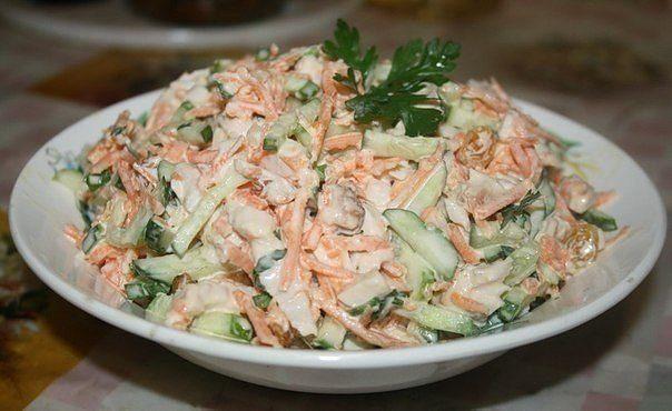 Замечательный салат На всех праздниках уходит на ура
