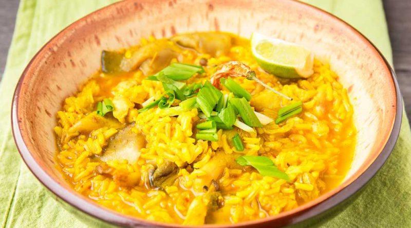 Рис с цитрусовыми и фисташками по-индийски