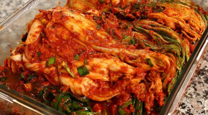 Традиционное корейское кимчи