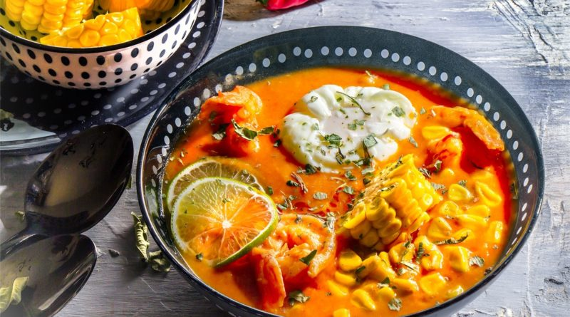 Желтый перуанский суп