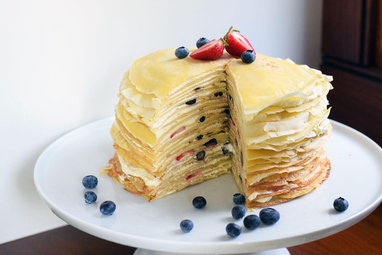торт из тонких блинчиков рецепт с фото одной стороны, региональная