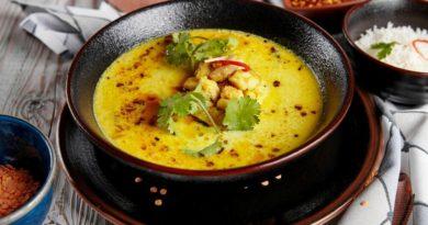 """Индийский суп """"Бомбей"""""""