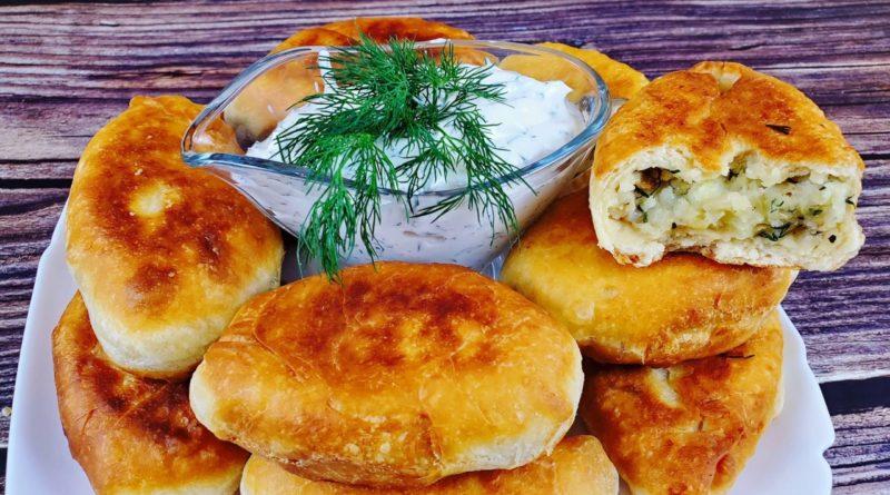 Пирожки из картошки с начинкой