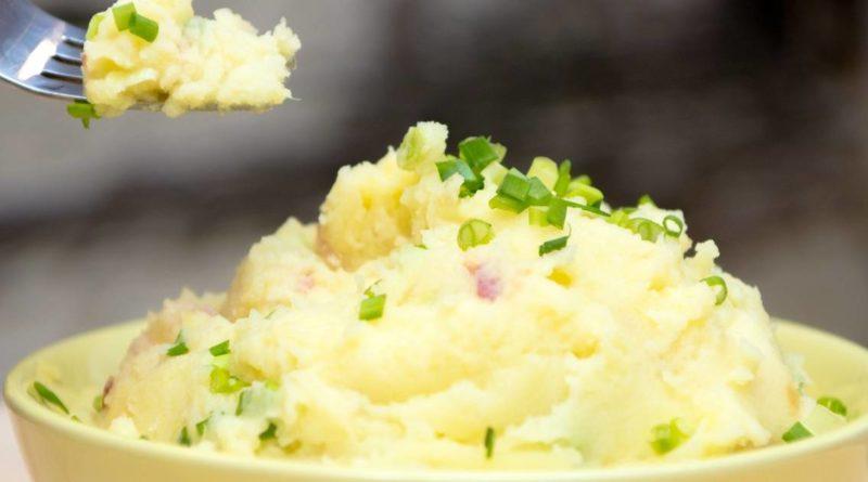 Самое вкусное картофельное пюре