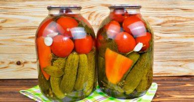 Сладкий маринад для засолки огурцов, помидоров и кабачков