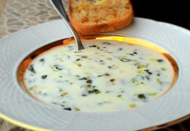 Кефирный суп - танов (по-армянски)