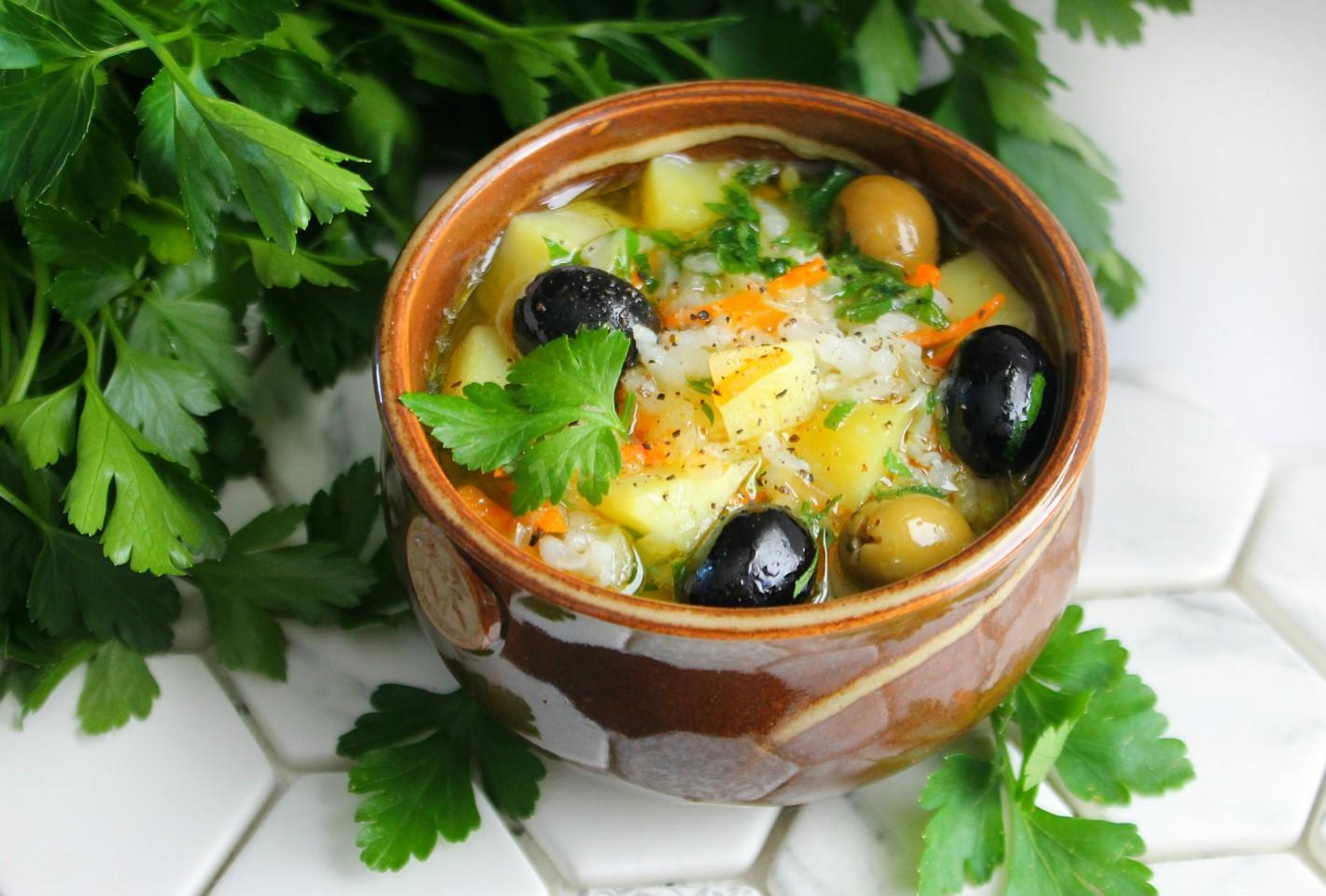 греческие супы рецепты с фото ники