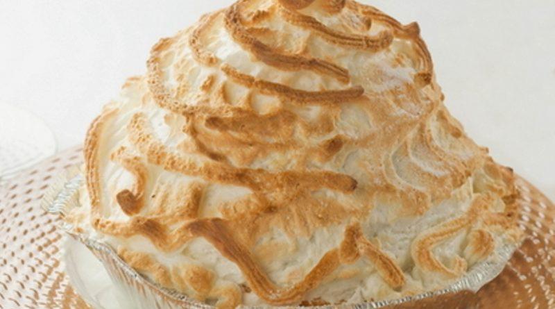 Мороженое «Аляска» запеченное в духовке