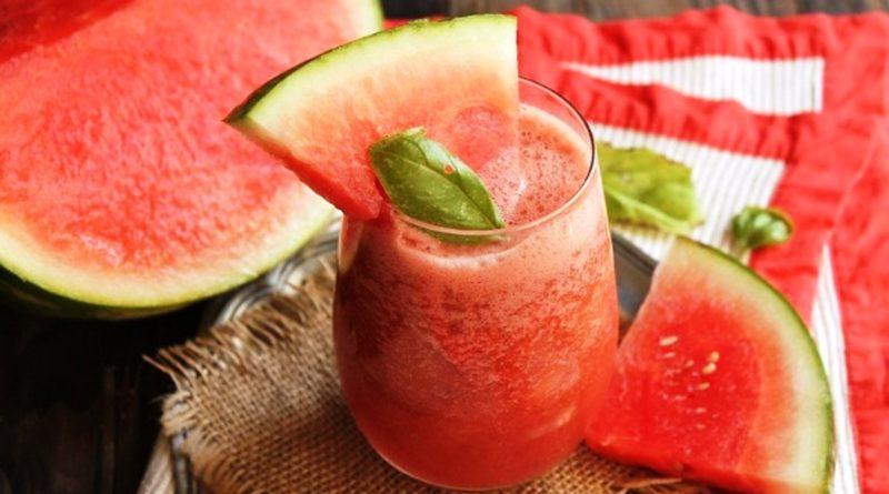 Арбузно-грейпфрутовый смузи