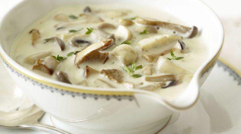 Соус грибной (из белых грибов)