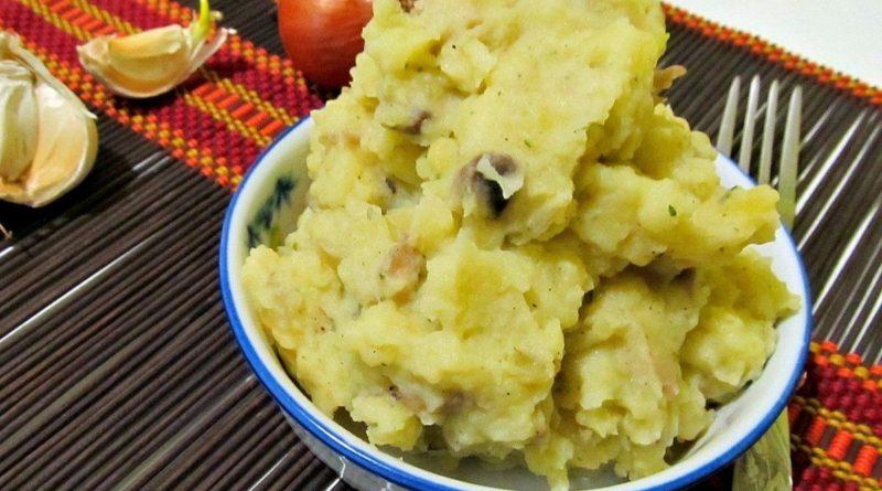 Пюре из жареного картофеля