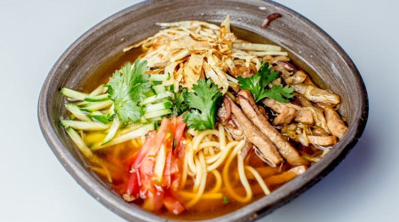 "Корейский холодный суп ""Кукси"""