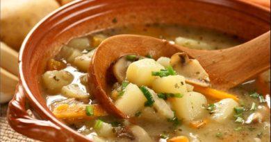 Греческий картофельный суп