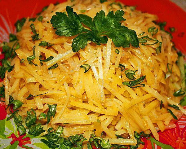 Салат из картофеля, по-корейски