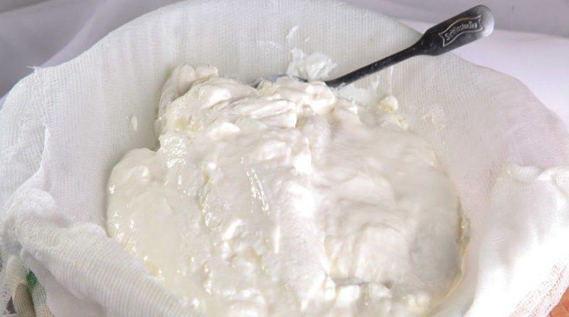 Сливочный сыр в домашних условиях (из кефира)