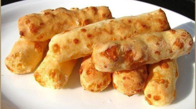 "Закуска ""Сырные палочки"" из лаваша"