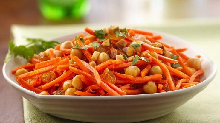 Марокканский салат из моркови