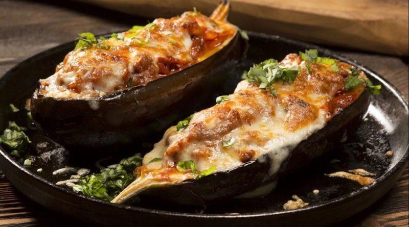 Жареные баклажаны с плавленым сыром
