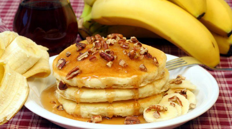 Банановые оладьи (без сахара)