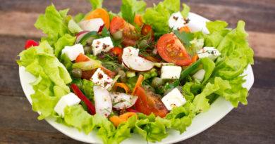"""Овощной салат """"В греческом стиле"""""""