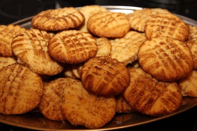 Песочное печенье в корично-сахарной обсыпке (сникердудль)