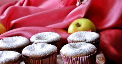 Яблочно-шоколадные кексы