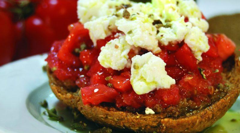 Дакос (критская закуска)