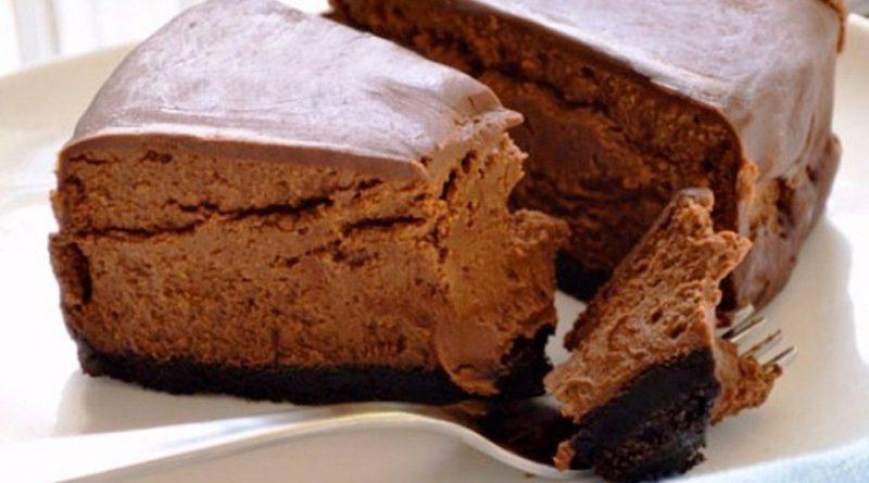 Вкуснейший диетический шоколадный чизкейк. Отлично подойдет для тех, кто на диете!