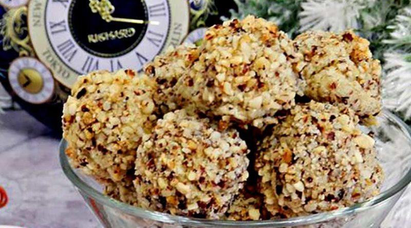 Филбертины (рождественское ореховое печенье)
