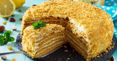 Особый медовый торт