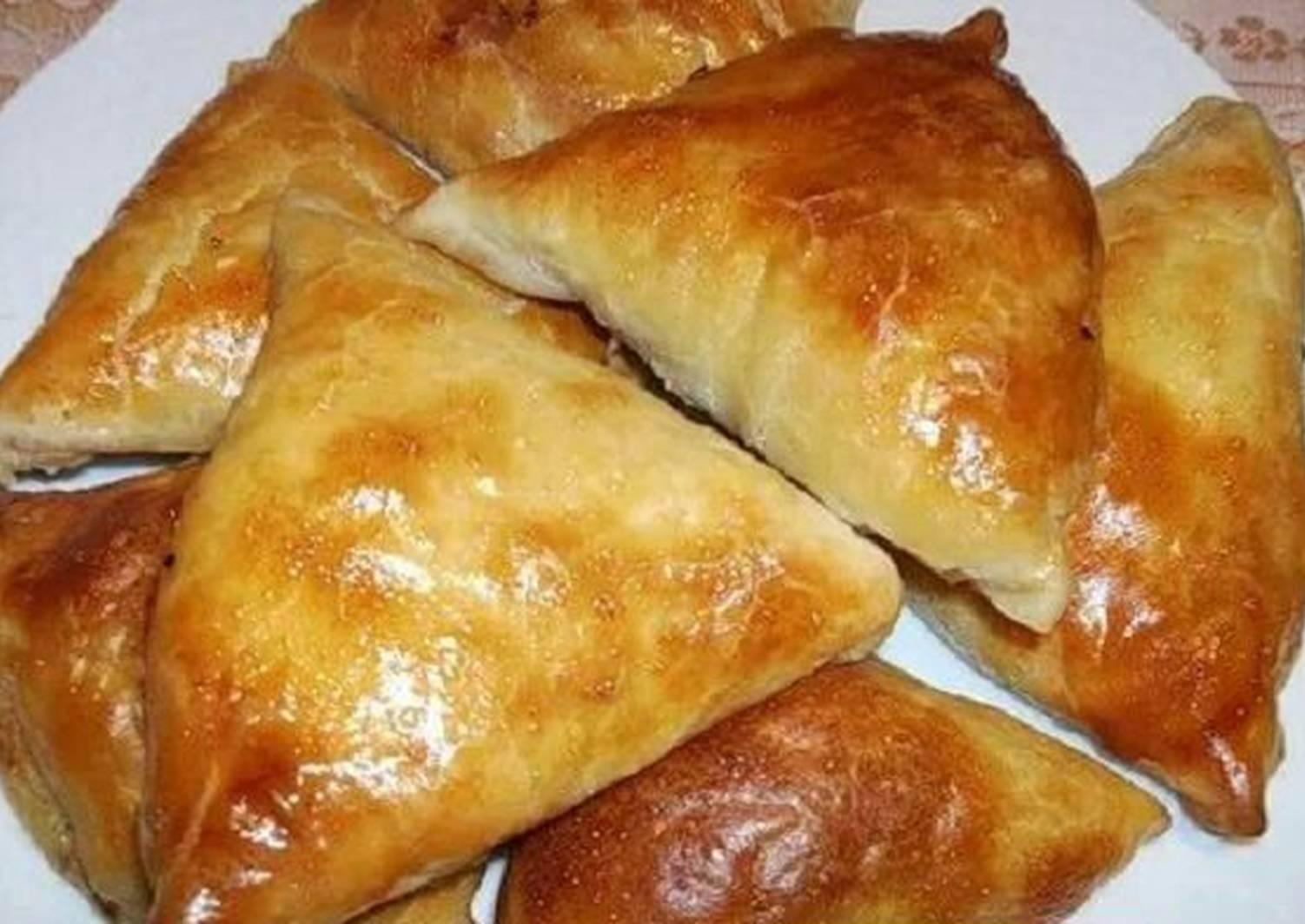 Cамса — те же печеные пирожки, но с неповторимым восточным вкусом и ароматом. - Mir Cooking
